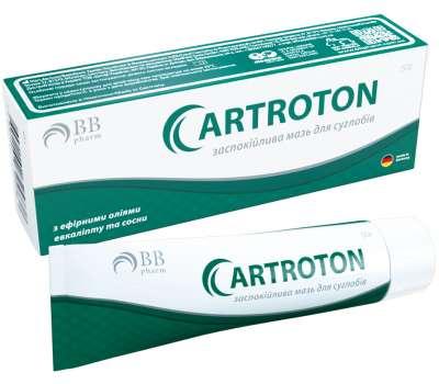 Успокаивающая мазь Артротон для суставов 50 гр. BBpharm