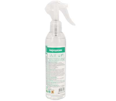 Аеродезин 250 мл с триггером для дезинфекции поверхностей и инструментов