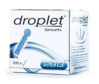 Ланцеты для глюкометра Droplet 100 шт (иглы для глюкометра)