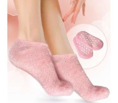 Гелевые увлажняющие носки GH-110 SPAgel розовые для женщин