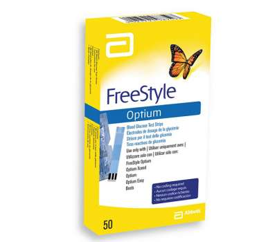 Тест полоски FreeStyle Optium H 50 шт