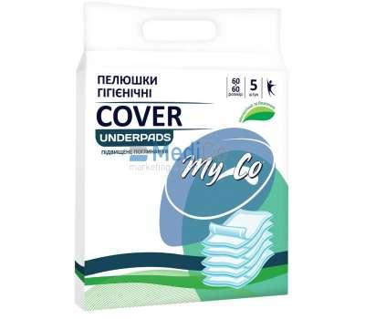 Пеленки одноразовые впитывающие 60*60 MyCo Cover 5 шт купить