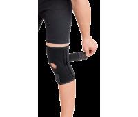 Бандаж для коленного сустава с четырьмя ребрами жесткости разъемный неопреновый тип 518, Торос