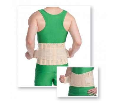 Корсет лечебно-профилактический (c 6 ребрами жесткости) Med textile 3046