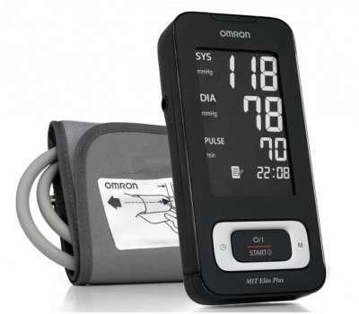 Тонометр автоматический Omron MIT Elite Plus (HEM-7301-ITKE) измеритель давления