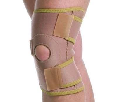 Бандаж на коленный сустав разъемный Med textile 6058