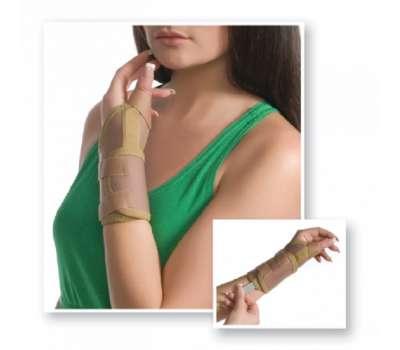 Бандаж на луче-запястный сустав с фиксацией пальца Med textile 8552