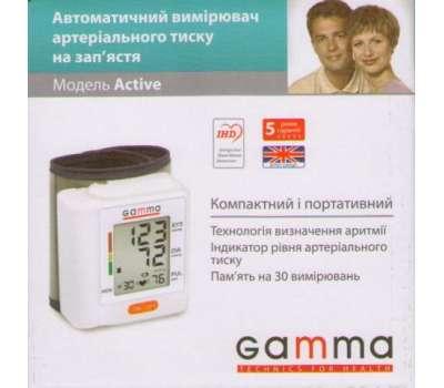 Тонометр на запястье Gamma Active new купить